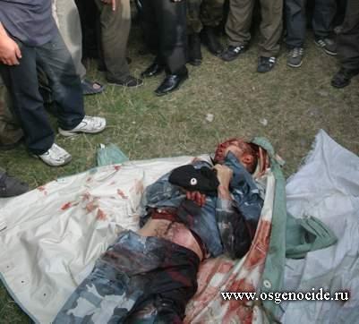 Зверское убийство Геннадия Санакоева в 2004г